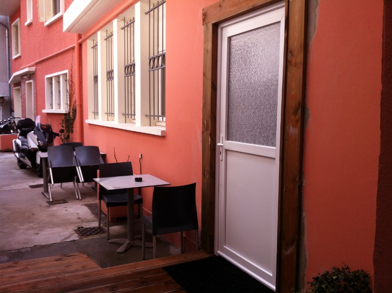 Entrée studio RDC